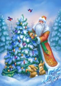 Новогодняя (рождественская елка)